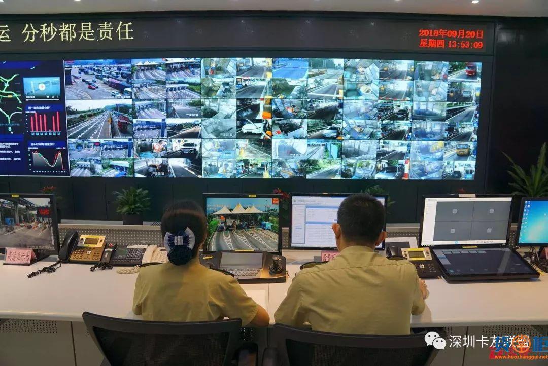 虎门大桥正式对货车进行管控,并严查超限超载!
