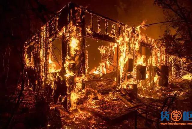 美国加州大火向港口蔓延,交通受阻、货物可能面临延误!
