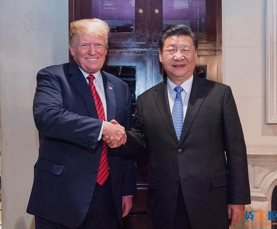 中美元首达成共识,双方同意停止相互加征新的关税!