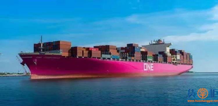 ONE集装箱班轮公司2018财年预计巨亏4亿美元