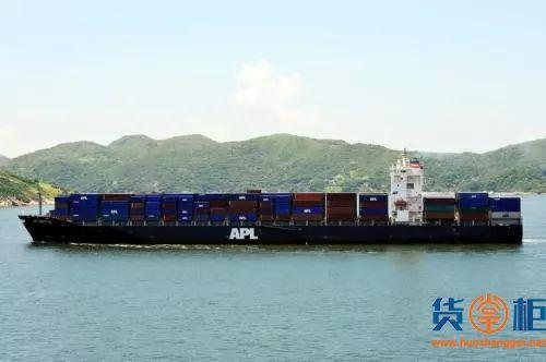 APL全球网络航线产品发布逾100条航线