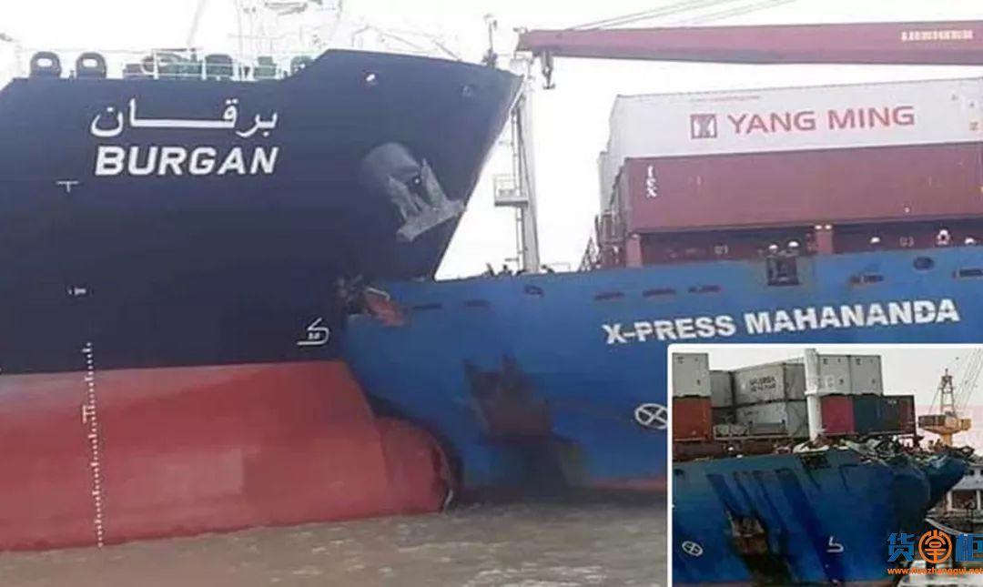 吉大港拥堵雪上加霜!X-press Mahananda集装箱船与油轮相撞