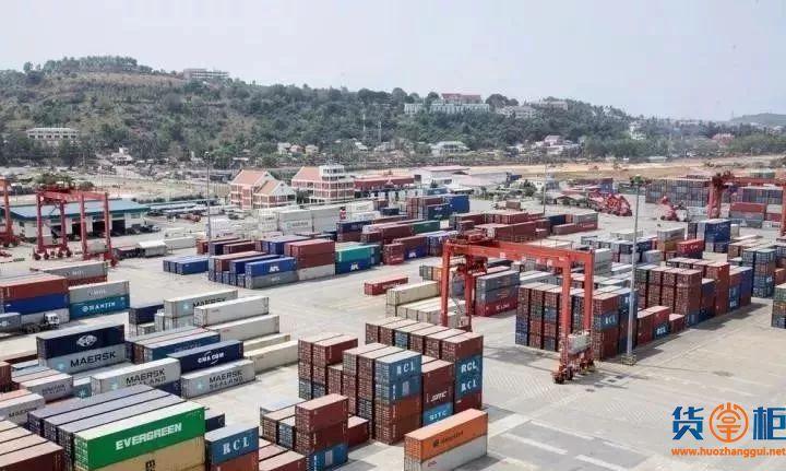 柬埔寨最大港口正面临严重拥堵
