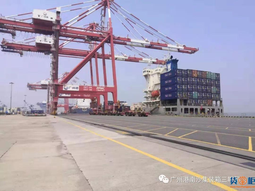 广州南沙港进口水果业务重新起航