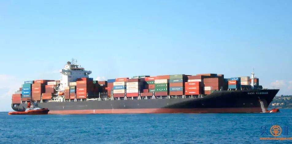 中远SEASPAN FRASER租赁集装箱船无故被扣押1个多月,船上载有1700个标准箱货物延误