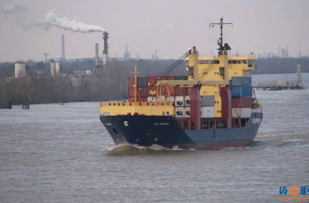 MEDKON ISTANBUL集装箱船遭遇恶劣天气,6个集装箱落水!