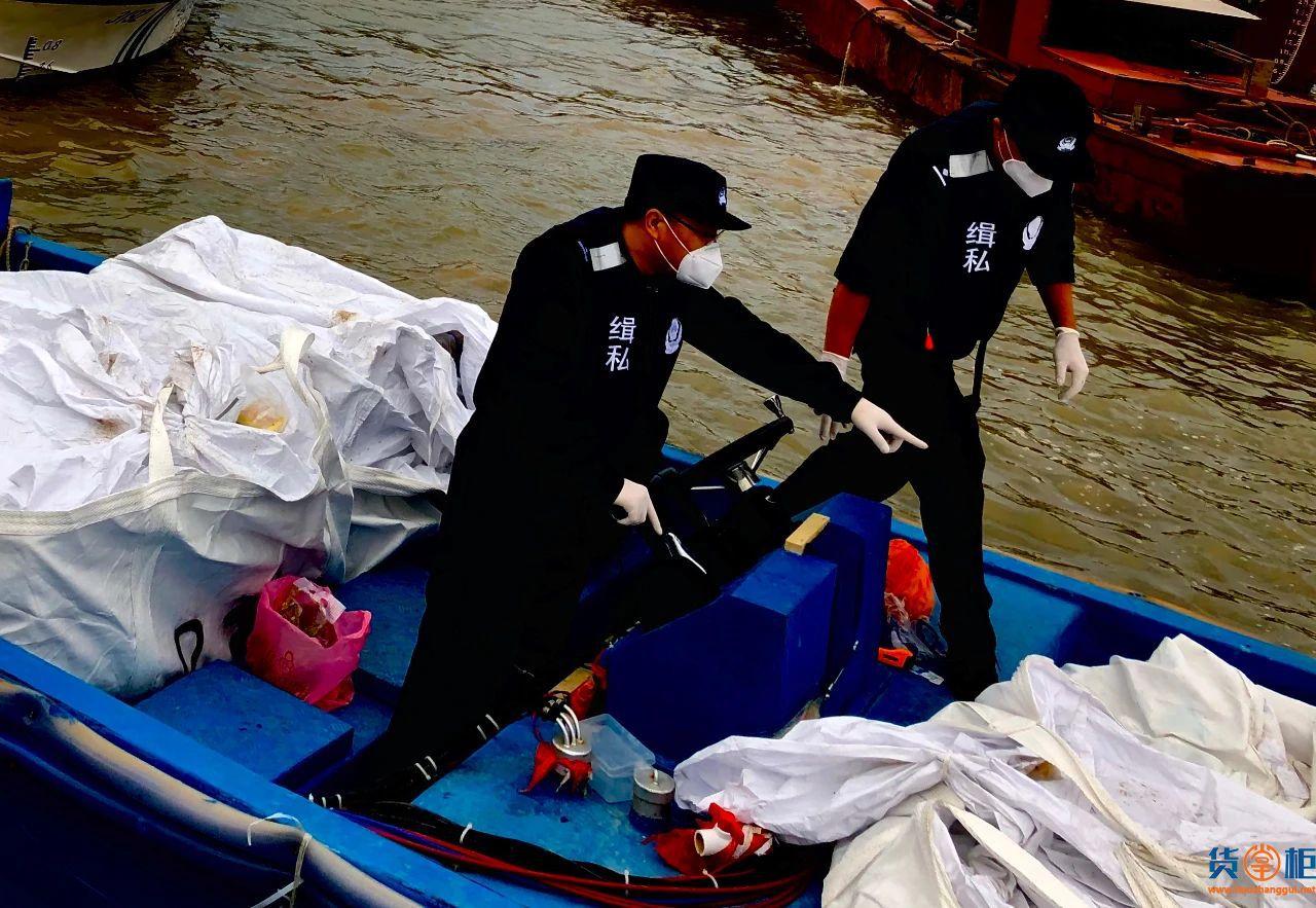 广州海关查获走私冻品700多吨