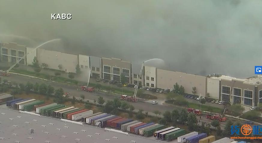 美国取消禁航!亚马逊加州一仓库发生大火!