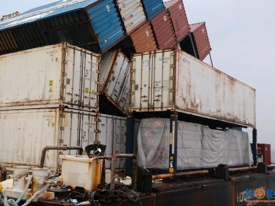 Ho Omaka Hou集装箱驳船21个集装箱落海!