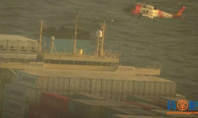 NAVIOS UNITE集装箱船舶发生集装箱坠海事件