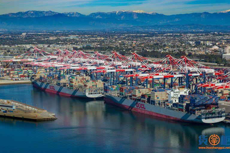 1.5万个集装箱滞留,美国大港接近瘫痪,马士基回应...