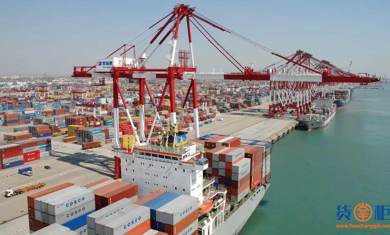 八大枢纽港口集装箱吞吐量同比增长8.7%