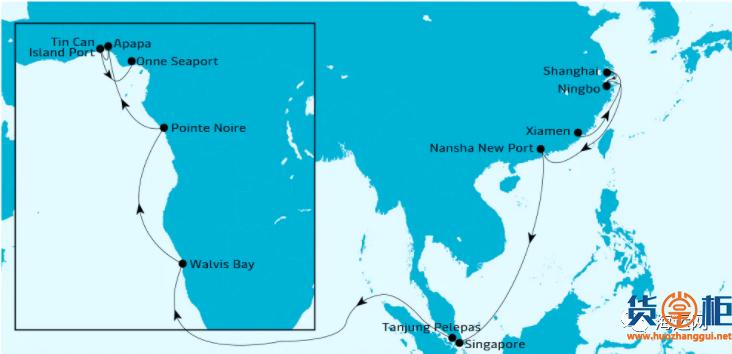 马士基MAERSK CADIZ集装箱船被海盗袭击!挂靠多个国内港口,船期延误!