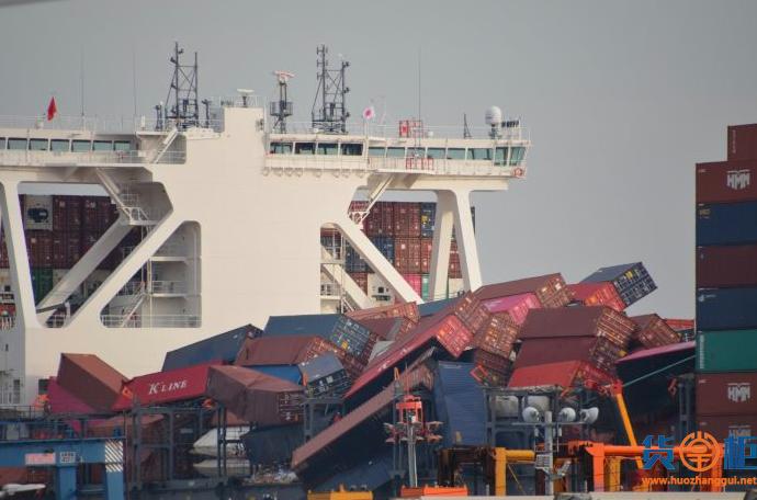 ONE事故更新:可能多达2250个集装箱丢失或受损,甲板下集装箱继续由该轮送达目的地