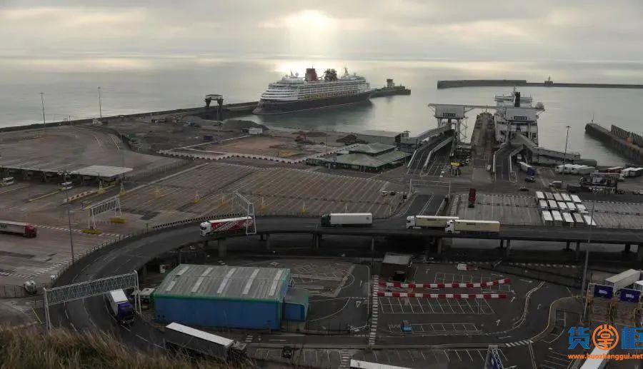英国脱欧后港口情势逐渐走上正轨