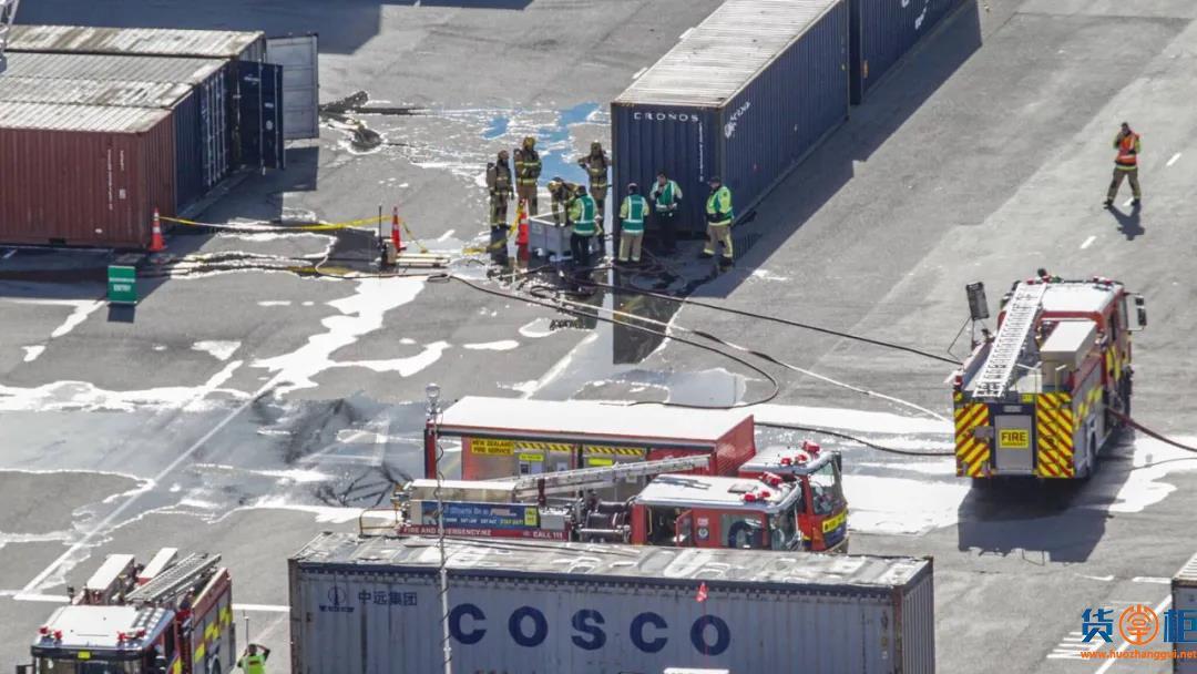 突发!港口化学品泄漏,导致码头作业中断、停止运营