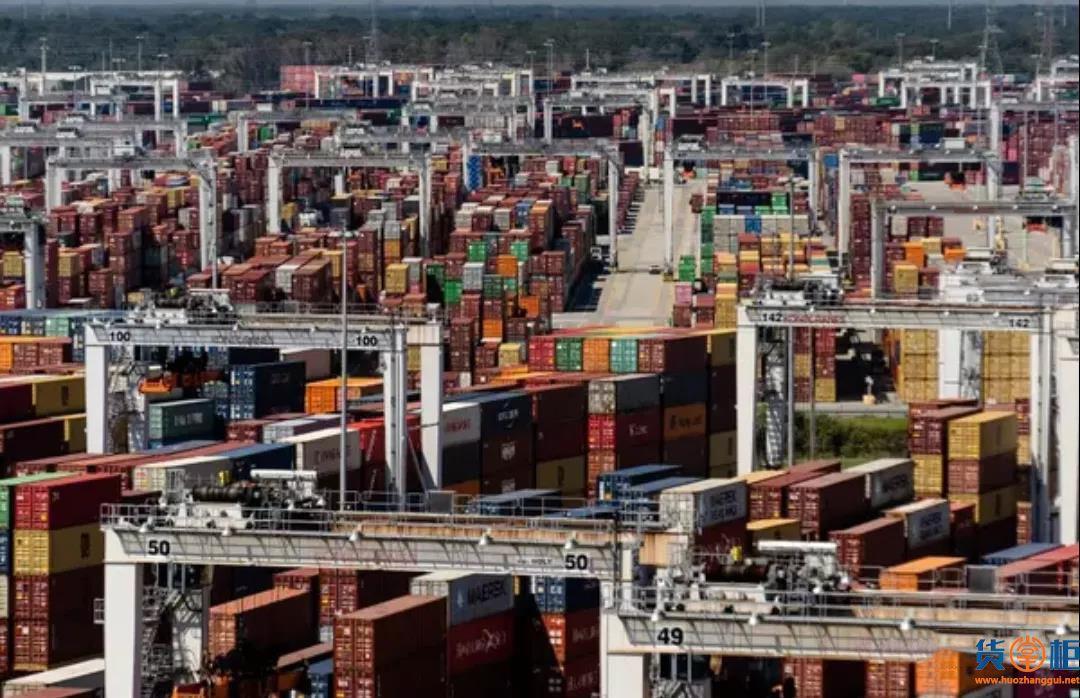 拥堵蔓延!该大港8万集装箱积压,最长滞留了一个月,船公司跳港