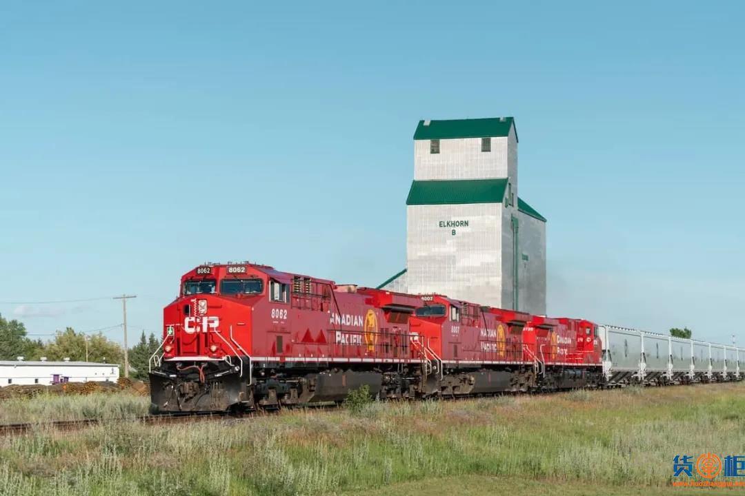 加拿大太平洋铁路公司:港口拥堵,加大发展国际多式联运和国内多式联运